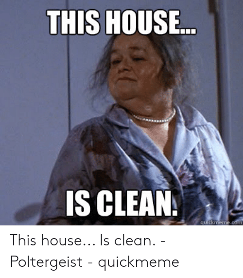 Image result for this house is clean