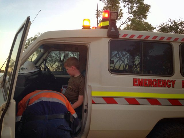 Mine Ambulance