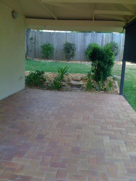 Big undercover patio at long term rental