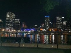 South Bank by night