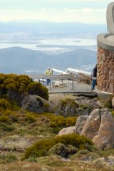 From Mount Wellington