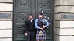 Bagpipes...