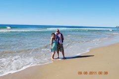 Morning walk on wurtulla beach sunshine coast