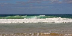 Surf at Sunshine coast