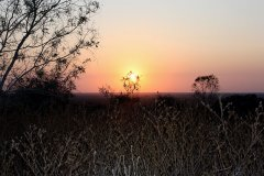 Sunset from Tower Hill, Charters Towers
